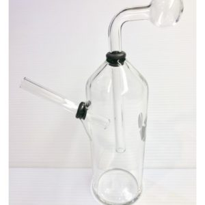 Oil burner heavy water pipe with rubber ring.